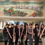 福井県小浜市神宮寺の「お水送り」2