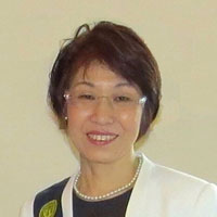 2015年度 会長 田中 佐千子 -President Sachiko Tanaka-