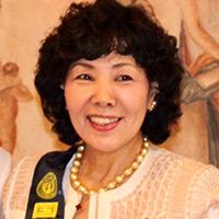2017年度 会長 太田 豊子 -President Toyoko Ota-